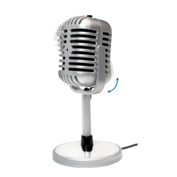 Microfon LogiLink Retro Style