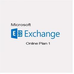 Microsoft Exchange ONLINE PLAN 1 1 user / 1 an, Electronic