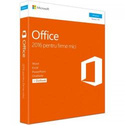 Microsoft Office Home and Business 2016 English, 1 PC, Medialess P2