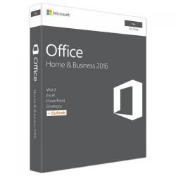 Microsoft Office Home and Business 2016 pentru Mac, 1 PC, English, Medialess P2