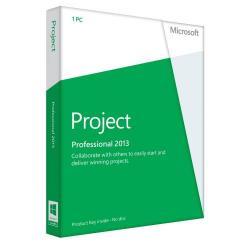 Microsoft Project Professional 2013 32-bit/x64 Romanian 1 License Medialess