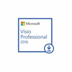 Microsoft Visio Professional 2016, All languages, FPP