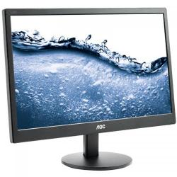 Monitor LED AOC e2070Swn, 20inch, 1600x900, 5ms, Black