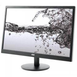 Monitor LED AOC e2270Swn, 21.5inch, 1920x1080, 5ms, Black