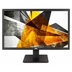 Monitor LED AOC E2275SWQE, 21.5inch, 1920x1080, 2ms, Black