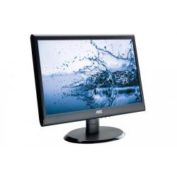Monitor LED AOC e950Swdak, 18.5inch, 1366x768, 5ms, Black