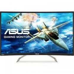 Monitor LED Curbat Asus VA326H 31.5inch, 1920x1080, 4 ms, Black