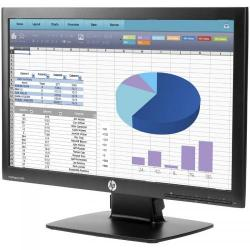 Monitor LED HP ProDisplay P202, 20inch, 1600x900, 5ms, Black