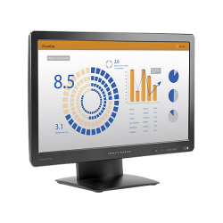 Monitor LED HP ProDisplay P202va, 20inch, 1920x1080, 8ms GTG, Black