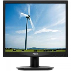 Monitor LED Philips 17S4LSB, 17inch, 1280x1024, 5ms, Black