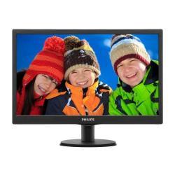 Monitor LED Philips 193V5LSB2, 18.5inch, 1366x768, 5ms, Black