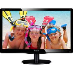 Monitor LED Philips 200V4LAB2, 19.5inch, 1600x900, 5ms, Black