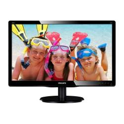 Monitor LED Philips 200V4QSBR, 19.5inch, 1920x1080, 8ms GTG, Black