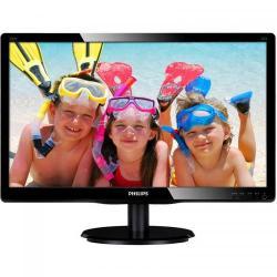 Monitor LED Philips 220V4LSB, 22inch, 1680x1050, 5ms, Black
