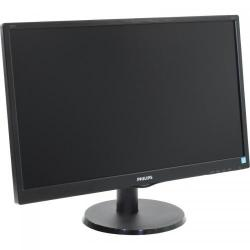 Monitor LED Philips 240V5QDSB, 23.8inch, 1920x1080, 5ms GTG, Black