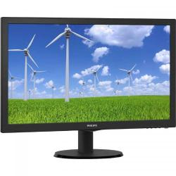 Monitor LED Philips 243S5LSB5/00, 23.6inch, 1920x1080, 5ms, Black