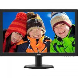 Monitor LED Philips 243V5LHAB5/00, 23.6inch, 1920x1080, 5ms, Black