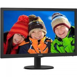 Monitor LED Philips 243V5LHSB5/00, 23.6inch, 1920x1080, 5ms, Black
