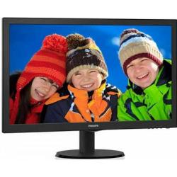 Monitor LED Philips 243V5QHABA, 23.6inch, 1920x1080, 8ms GTG, Black