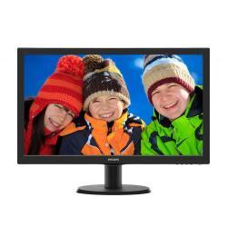Monitor LED Philips 243V5QSBA, 23.6inch, 1920x1080, 8 ms GTG, Black