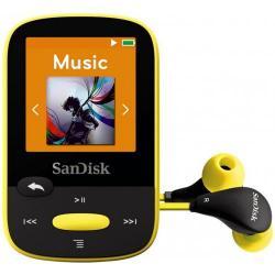 MP3 Player Sandisk CLip Jam 4GB, Radio FM, Black/Yellow