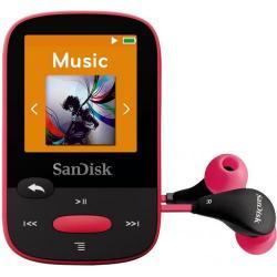 MP3 Player Sandisk CLip Jam 8GB, Radio FM, Black/Pink