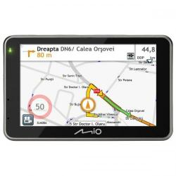 Navigator GPS Mio Combo 5207, 5inch + Harta Full Europa LifeTime Truck + 8GB MicroSD