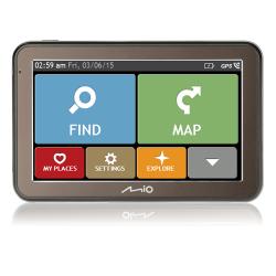 Navigator GPS Mio Spirit 7670 Truck, 5inch + Harta Full Europe LifeTime