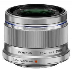 Obiectiv Foto Olympus M.ZUIKO DIGITAL 25mm Argintiu