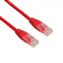 Patch cord 4World 04711, Neecranat, Cat5e, UTP, 1m, Red