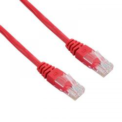 Patch Cord 4World 04713, UTP, Cat5e, 3m, Red