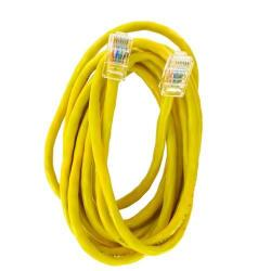 Patch cord 4World 04731, Neecranat, Cat5e, UTP, 3m, Yellow