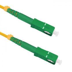 Patchcord Optic Qoltec 54365, SC/APC-SC/APC, 1.5m