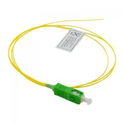 Pigtail fibra optica 4World 08926, SC/APC, 1m