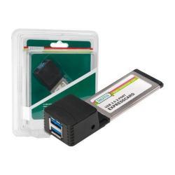 Placă Digitus EXPRESSCARD - USB 3.0 (2 porturi)