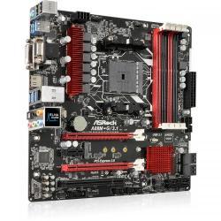 Placa de baza ASRock A88M-G/3.1, AMD A88X, socket FM2+, mATX