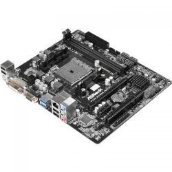 Placa de baza ASRock FM2A68M-DG3+, AMD A68H, socket FM2+, mATX