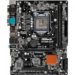 Placa de baza ASRock H110M-DVP, Intel H110, socket 1151, mATX