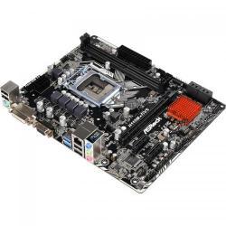 Placa de baza ASRock H110M-DVS R2.0, Intel H110, socket 1151, mATX