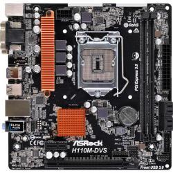 Placa de baza ASRock H110M-DVS R3.0, Intel H110, Socket 1151, mATX