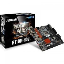 Placa de baza ASRock H110M-HDV R3.0, Intel H110, Socket 1151, mATX