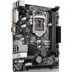 Placa de baza ASRock H81M-DG4, Intel H81, socket 1150, mATX