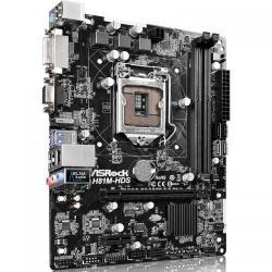 Placa de baza ASRock H81M-HDS R2.0, Intel H81, socket 1150, mATX