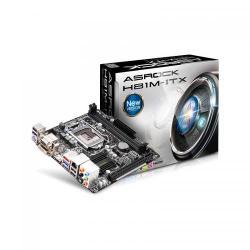 Placa de baza ASRock H81M-ITX, Intel H81, socket 1150, mITX