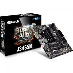 Placa de baza ASRock J3455M, Intel Celeron Quad-Core J3455, mATX