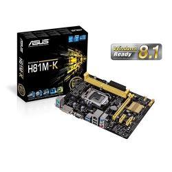 Placa de baza Asus H81M-K, Intel H81, socket 1150, mATX
