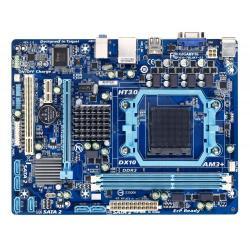 Placa de baza Gigabyte 78LMT-S2, AMD 760G+SB710, socket AM3+, mATX