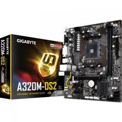 Placa de baza Gigabyte A320M-DS2, AMD A320, socket AM4, mATX