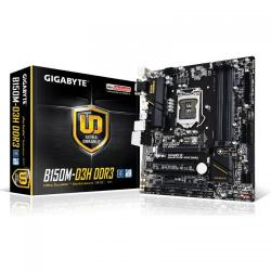 Placa de baza Gigabyte B150M-D3H DDR3, Intel B150, socket 1151, mATX