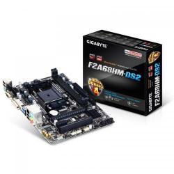 Placa de baza Gigabyte F2A68HM-DS2, AMD A68H, socket FM2+, mATX